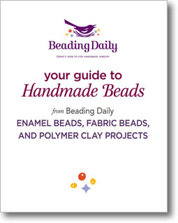 Get started today with this free guide to handmade beads and get tips on enamel beads, fabric beads, and polymer clay projects.