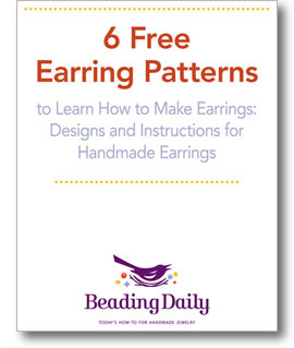 Get your free earring making patterns when you download this free eBook!