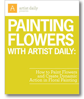 Download your free eBook to learn how to paint flowers with dynamic action and purpose!