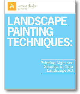 Learn how to paint light and detail into landscape artwork