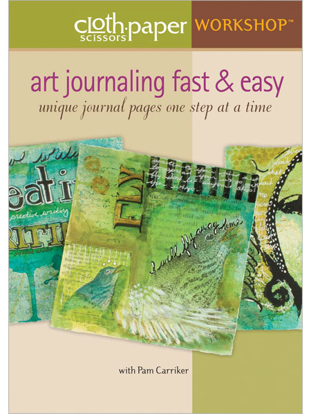 Pam Carrikers DVD - Art Journaling Fast and Easy