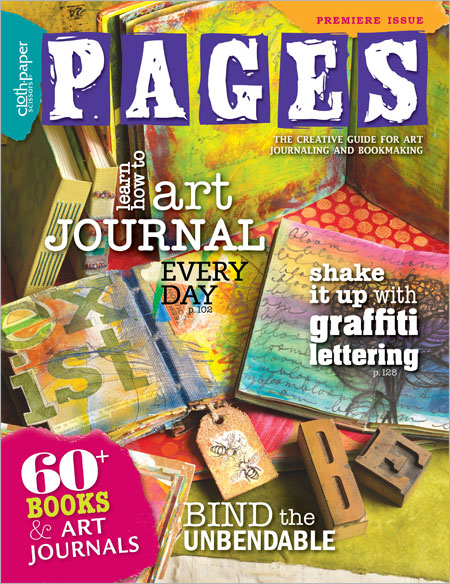 Pages Art Journaling Magazine