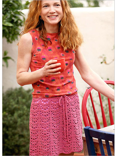 How to Crochet a Skirt Pattern | eHow.com