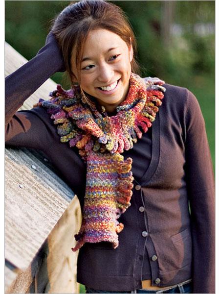Вязанные перчатки и шарф - Вязание. вязать шарф мебиус шарф кот вязаный.