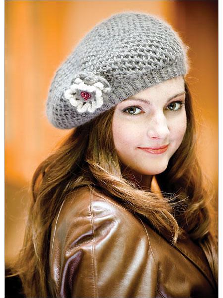 Boinas a crochet con patrones - Imagui