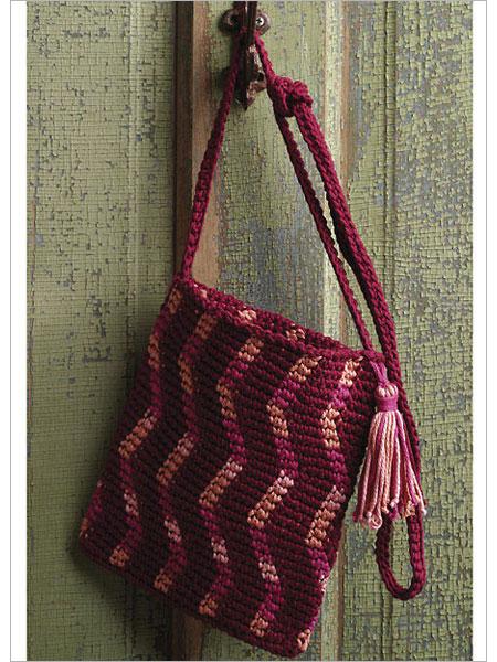 Crochet Boho Bag Pattern : CROCHET BOOK BAG ? Crochet For Beginners