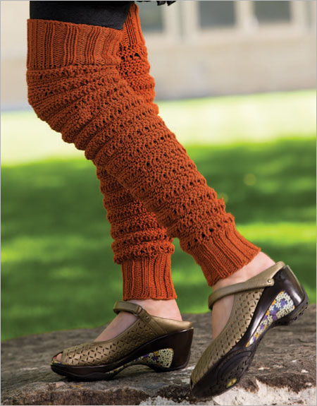 Download Free Pattern Details - Melody - Legwarmers and Slippers