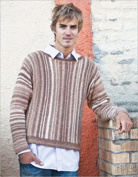 Free Mens Sweater Vest Knitting Pattern The Blouse