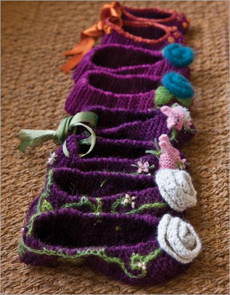 Knitting Pattern Slipper Socks   Patterns Gallery