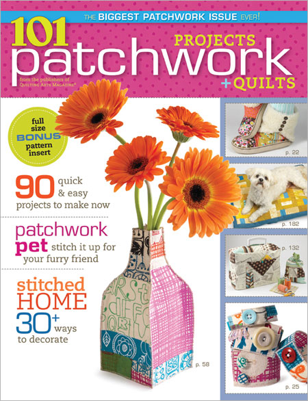 101 Patchwork Project + Quilts