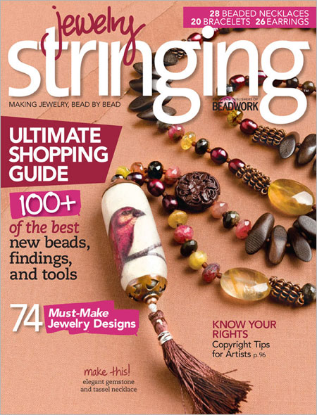 Published in Jewelry Stringing Magazine Fall 2012