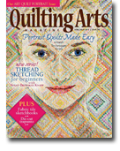 Quilting Arts, April/May 2014