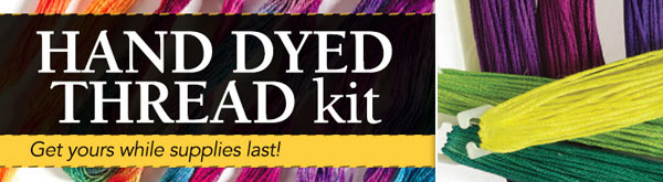 Hand Dyed Thread Kit -  Get yours while supplies last!