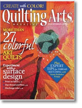 Quilting Arts August/September 2014