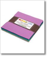 Charm Squares: Kona® Cotton, Patchwork City Winter Palette