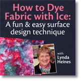 How to Dye Fabric with Ice: A Fun & Easy Surface Design Technique