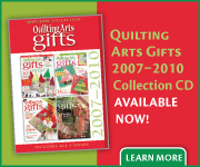 Quilting Arts Gifts 2007-2010 Collection CD