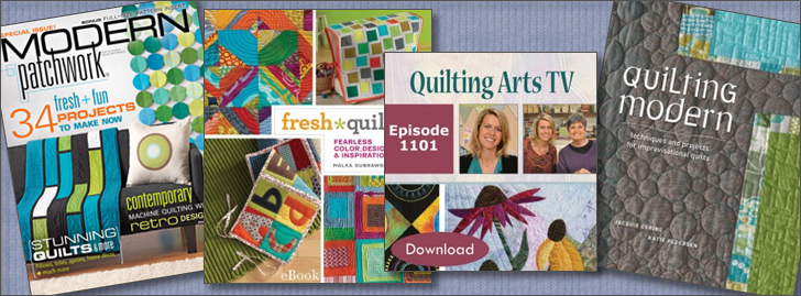 Modern Quilting Patterns, Projects & Techniques