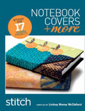 Stitch Notebook Covers and More