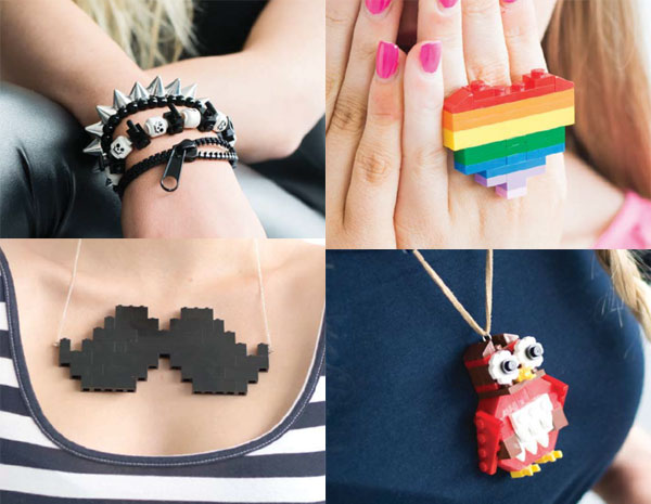 The Unofficial Lego Jewelry Book'