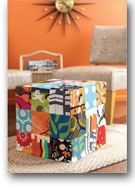 Patchwork Cube Slipcover