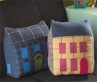 Tweed Townhome Pillow Kit