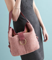 Slouch Bag by Cheryl Kuczek.