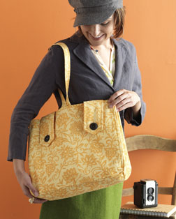 Arrow Tab Tote designed by June McCrary Jacobs.