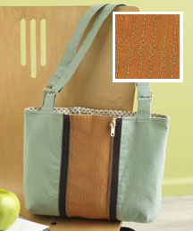 Zip Zip Purse by Rebecca Kemp Brent.