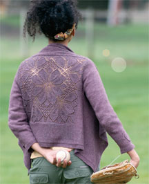 Dahlia Cardigan by Heather Zoppetti.