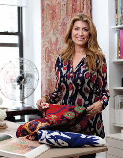 Genevieve Gorder in her New York City studio. (Photos by JJ Jimenez)