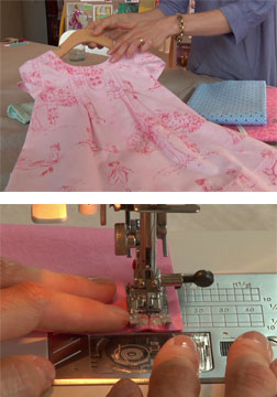 Learn about sewing seams, corners, curves, gathers, and more!