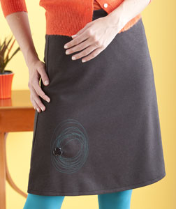 Spiral Skirt by Beki Wilson.