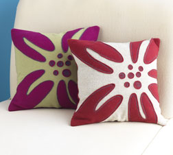 Lily Pillow Covers by Josee Carrier.