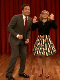 Amy and Jimmy Fallon