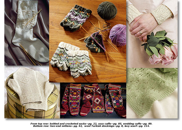 Knitting Traditions collage