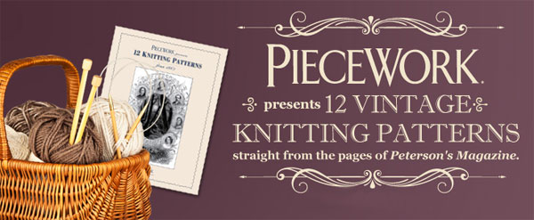 12 Knitting Patterns from Peterson's Magazine eBook