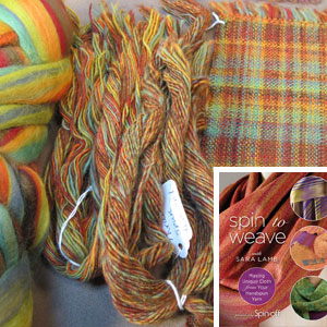 Spinning to Weave Premium Collection: Using Handspun Yarn for Fabric