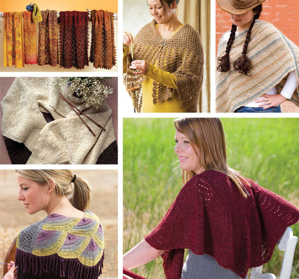 Spin-Off Magazine Presents: 7 Handspun Shawls to Knit, Crochet, Weave