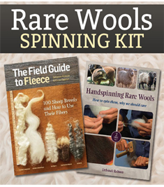 Rare Wools Spinning Kit