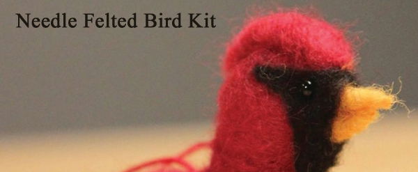 needle felted bird kit