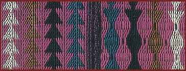 Card weaving pattern drafting and designing in weaving.