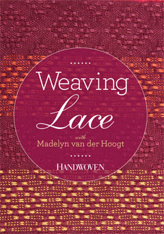 weaving lace cover