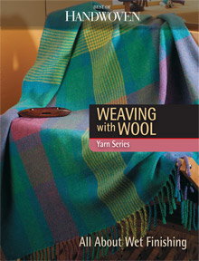 weaving with wool eBook