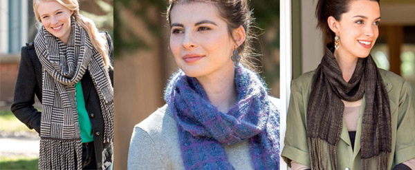 woven scarves projects
