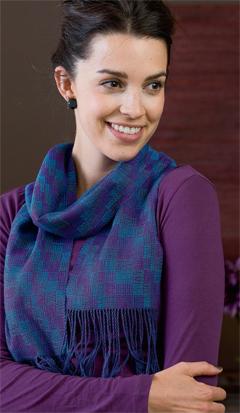 bold brights scarf