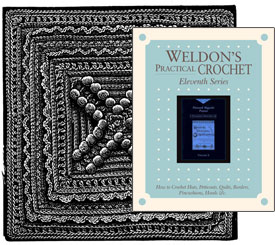 Weldon's Practical Crochet 9-12 Series: 80 Vintage Crochet Patterns