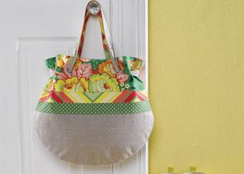 Bag Sewing Pattern: Spring Tote