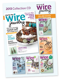 2013 Step by Step Wire Jewelry Collection CD