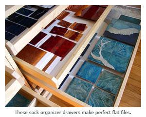 sock organizer files